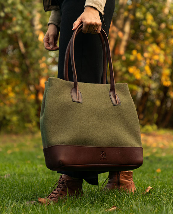 Shopper Bag made with sustainable materials